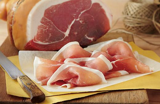 Dry-cured hams