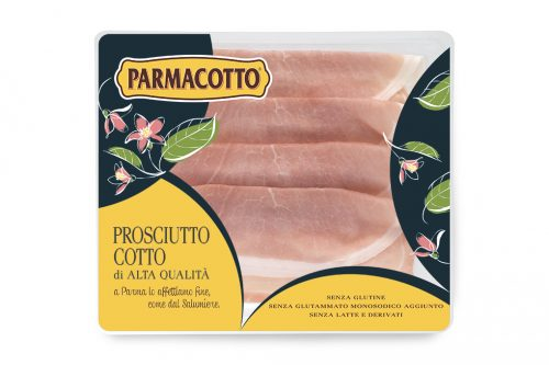 It is irresistible with High Quality Cooked Ham